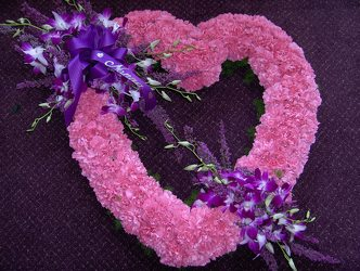 Pink Heart from Lagana Florist in Middletown, CT