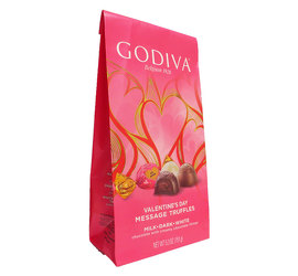 Godiva Truffle Trio Bag from Lagana Florist in Middletown, CT