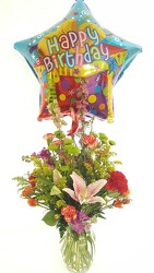 Happy Happy Birthday! from Lagana Florist in Middletown, CT