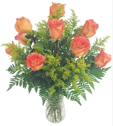 Sunset Dozen from Lagana Florist in Middletown, CT