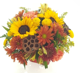 Festive Fall from Lagana Florist in Middletown, CT