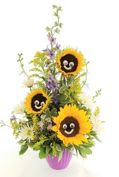 Sunny Smiles from Lagana Florist in Middletown, CT