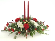 Christmas Candlelight from Lagana Florist in Middletown, CT