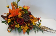 Cornucopia from Lagana Florist in Middletown, CT