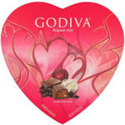 Godiva Chocolate Heart Box Asst.  from Lagana Florist in Middletown, CT