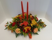 Fall Centerpiece from Lagana Florist in Middletown, CT