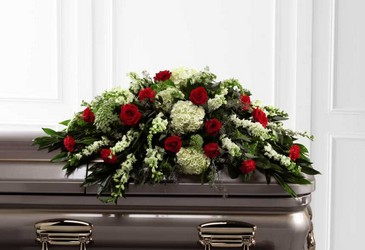 The FTDÂ Sincerity(tm) Casket Spray from Lagana Florist in Middletown, CT