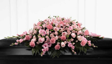 The FTD Sweetly Rest(tm) Casket Spray from Lagana Florist in Middletown, CT