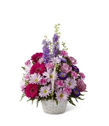 The FTD Pastel Peace(tm) Basket from Lagana Florist in Middletown, CT