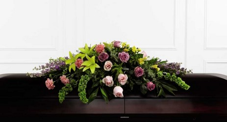 The FTD Forever Beloved(tm) Casket Spray from Lagana Florist in Middletown, CT