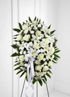 The FTD Exquisite Tribute(tm) Standing Spray from Lagana Florist in Middletown, CT