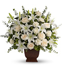 Teleflora's Loving Lilies and Roses Bouquet from Lagana Florist in Middletown, CT