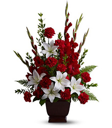Teleflora's Tender Tribute from Lagana Florist in Middletown, CT
