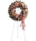 Graceful Wreath from Lagana Florist in Middletown, CT